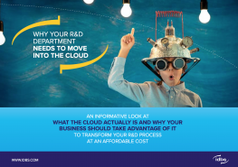 eBook: Why your R&D organization needs to move into the cloud